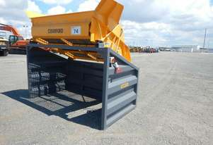 Barford US70 Portable Skid Mounted Electric Drive Double Deck Screener