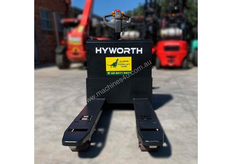 HYWORTH 2T Heavy Duty Pallet Mover HIRE from $155pw + GST