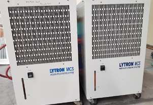 INDUSTRIAL WATER CHILLERS x 2 LYTRON Model MCS50 Ambient Cooling System USA 240v fr $990 to 22/7/19