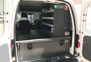 Caddy Tool Box for Ford Van setup