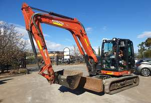 2016 KUBOTA KX080 8.2T EXCAVATOR WITH LOW 1850 HOURS