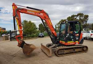 2017 KUBOTA KX080 8.2T EXCAVATOR WITH LOW 1960 HOURS