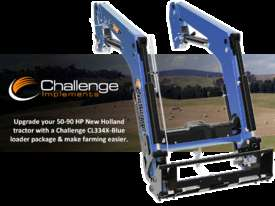 Challenge CL334X-Blue is the ideal front-end loader for your New Holland 50hp to 90hp agricultural  - picture0' - Click to enlarge