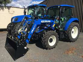 Challenge CL334X-Blue is the ideal front-end loader for your New Holland 50hp to 90hp agricultural  - picture2' - Click to enlarge