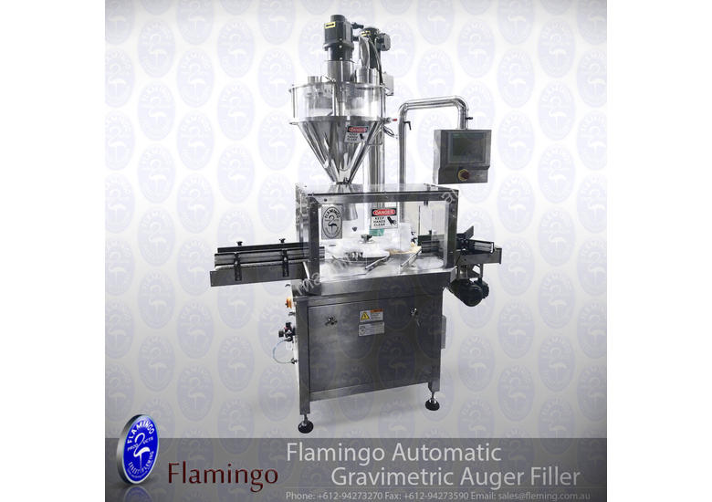 Flamingo Automatic Gravimetric Auger Filler - Rotary table (EFAFA-6000G)