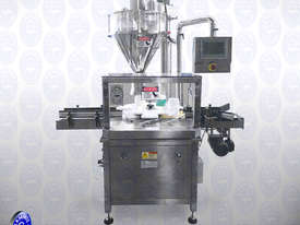 Flamingo Automatic Gravimetric Auger Filler - Rotary table (EFAFA-6000G) - picture1' - Click to enlarge
