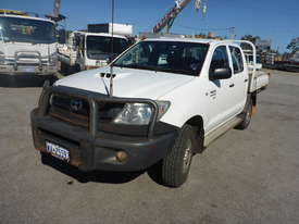 2009 Toyota Hilux SR Crew Cab 4x4 Diesel Tray Back Utility (GA1066) - picture0' - Click to enlarge