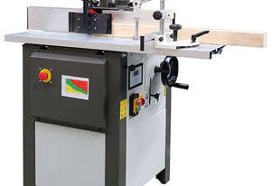 1500W 30mm Spindle Moulder with Aluminium Fence + Aluminium Sliding Table WS500F by Oltre