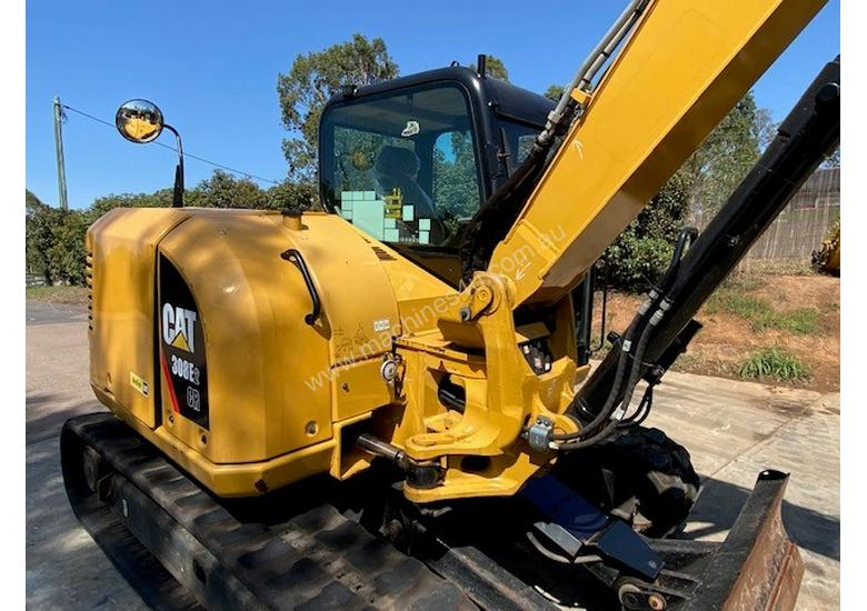 308E2 Excavator Rubber Tracks with Nation Wide Power Train & Hydraulic Warranty until June 2020.