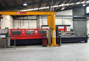 Bystronic Laser Cutting System - 4.4kW Bystar 4020 with rotary axis and Byloader 4020. Low hours.