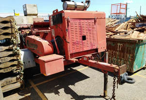 Morbark M14 Blizzard Wood Chipper with turbo diesel engine