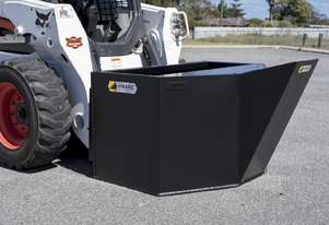 Skid Steer Concrete Kibble Bucket