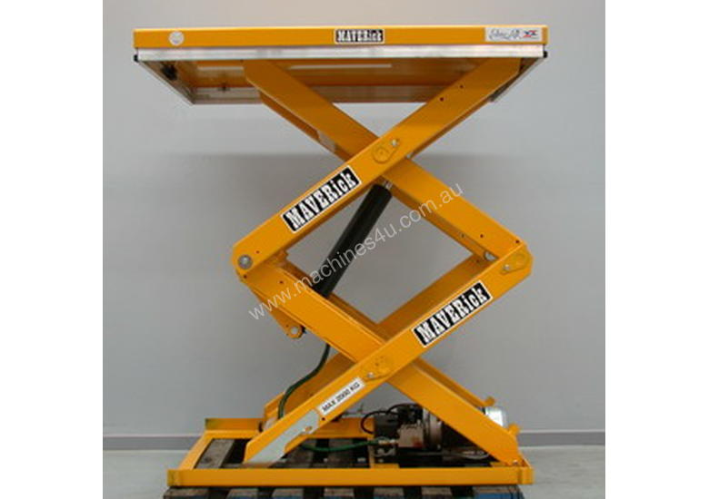 Maverick - Double Scissor Lift Table