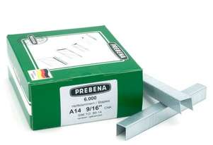 Prebena A14CNK Staples galvanized