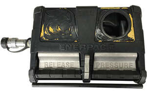 Enerpac Air Driven Hydraulic Pump, For use with Single-Acting Cylinder or Tool, 3/3 Valve, 61 inch,