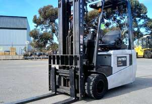 Used 1.8T Nissan 3-Wheel Electric Forklift | Adelaide