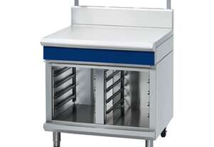 Blue Seal Evolution Series B90S-CB - 900mm Bench Top With Salamander Support Cabinet Base