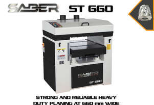 Strong Robust And Reliable Thicknesser At 660 mm Wide