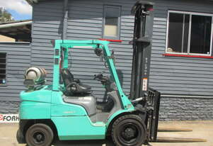 Mitsubishi 3.5 ton LPG good Used Forklift #CS252