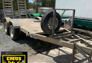 2012 Rebound Plant Trailer, ex council, E.M.U.S. TS599