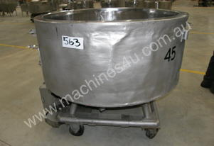 Stainless Steel Jacketed - Capacity 700 Lt.