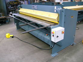 EPIC 2500 x 4.0mm Under Driven Hydraulic Guillotine - picture3' - Click to enlarge