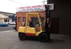 HYSTER H3.00XL - 3 TONNE CAPACITY - LPGAS POWERED
