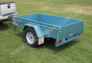 Single Axle Box Trailer No.12A 2.1m x 1.2m (6x4)