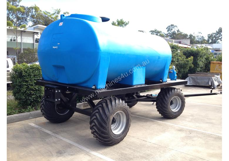 Poly Tank Trailer : New ez machinery poly tank water cart the wc