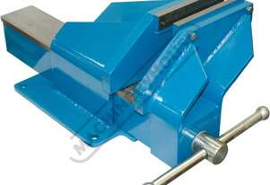 OFV8HD Steel Offset Fabricated Bench Vice - Right Hand 200mm Jaw Width 220mm Jaw Opening