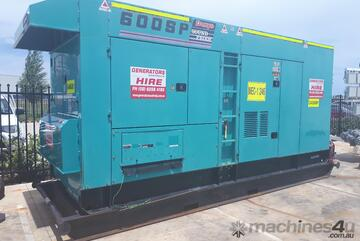 Price halved must go before EOFY 2021 ! Denyo DCA600 Generator 600KVA