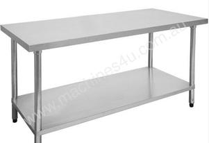F.E.D. 1800-6-WB Economic 304 Grade Stainless Steel Table 1800x600x900