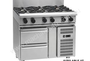 Waldorf 800 Series RNL8600G-RB - 900mm Gas Cooktop Low Back Version
