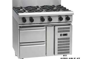 Waldorf 800 Series RNL8600G-RB - 900mm Gas Cooktop Low Back Version `` Refrigerated Base