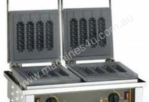 Roller Grill GED 80 Double Plate Waffle Machine (Stick)
