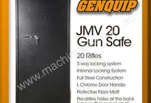 JMV 20 Gun Safe Rifle Firearm Storage Lock Box