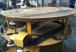 Motorised Pallet Turntable Rotating Table 415 Volt