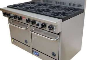Goldstein Gas 8 Burner Double Oven PF-8-2/20