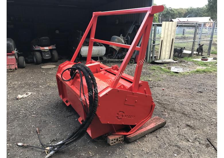 Forestry Mulcher For Sale >> Ahwi Mulching Head For Bobcat For Sale