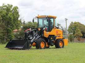 2017 Wheel loader 5.2 tons 75 HP SM75  GP Bucket & Bucket 4 in 1 & Forklift Tynes & 3 Years Warranty - picture0' - Click to enlarge