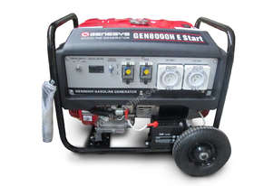 Portable Honda Generator - Petrol 8KVA - Key Start