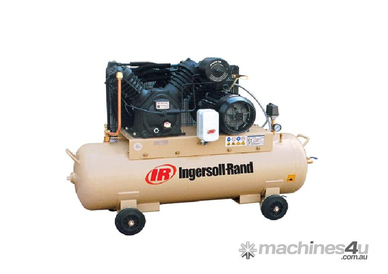 Ingersoll Rand 2545C10/8-SD: 10hp 34cfm Reciprocating Air Compressor