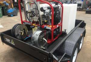 New Trailer mounted high pressure cleaner