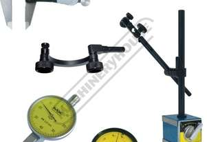 K101 Digital Caliper, Dial & Test Indicator, Magnetic Base & Holder Package Deal