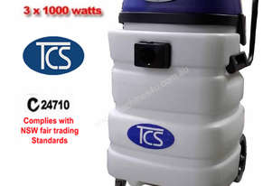 TCS 90L Commercial Industrial Wet & Dry Vacuum Cleaner 3 x 1000W Ametek Motors
