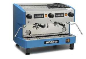 Boema Deluxe D-2V15A 2 Group Volumetric Espresso Machine