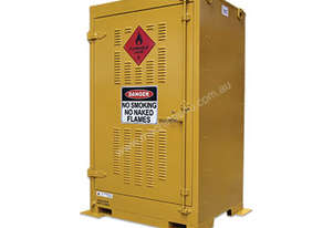 350L Outdoor Flammable Liquids Storage. Made in Australia to meet Australian Standards