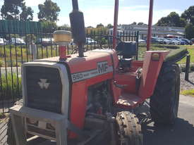 Massey Ferguson Tractor MF550 and HD Flail Mulcher - picture0' - Click to enlarge