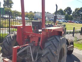Massey Ferguson Tractor MF550 and HD Flail Mulcher - picture1' - Click to enlarge