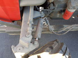 Massey Ferguson Tractor MF550 and HD Flail Mulcher - picture2' - Click to enlarge